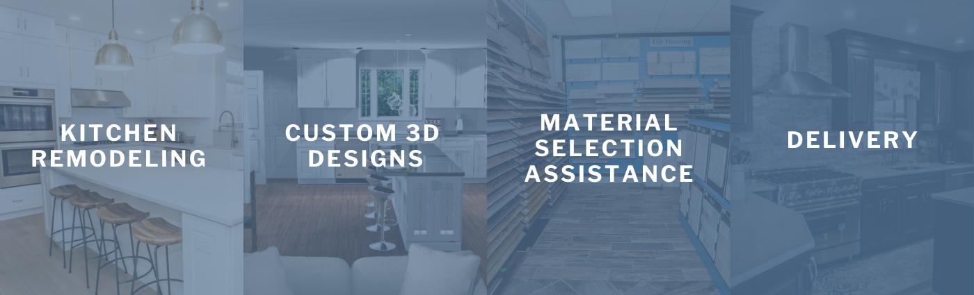 Legacy Kitchen Design Center Services